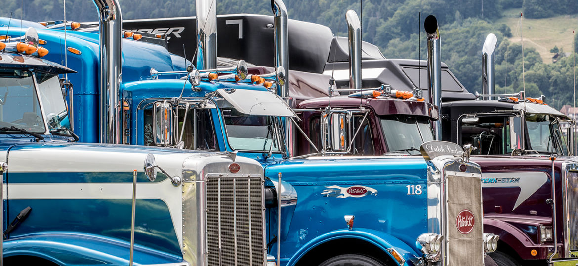 US Show Trucks am Trucker & Country-Festival