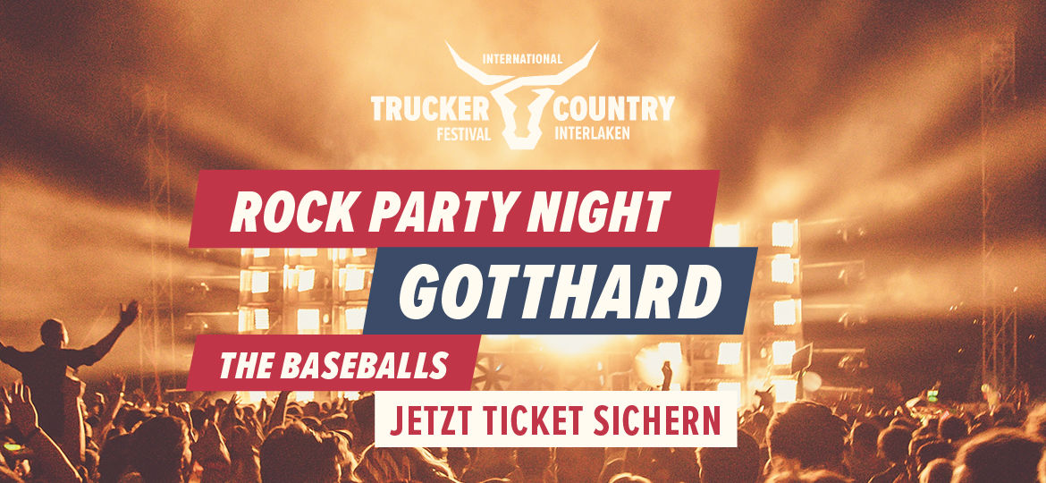 Trucker & Country-Festival - Rock Party Night